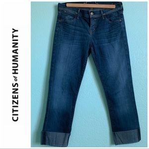 CoH Dani cropped straight leg jeans
